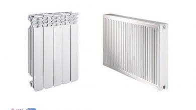تصویر انواع مختلف رادیاتور